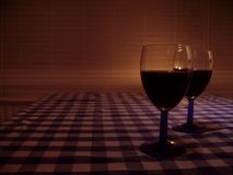 Vidro--vinho Fotografia de Stock