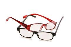 Vidros óticos isolados Imagens de Stock Royalty Free