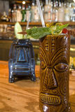 Vidros 2 de Tiki Imagem de Stock