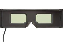 Vidros 3D de jogo Foto de Stock Royalty Free