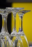 vidros alinhados Imagens de Stock