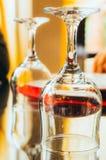 Vidros bebendo Imagem de Stock