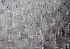 Vidros bebendo Imagem de Stock Royalty Free
