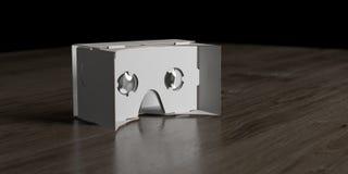 Vidros caseiros do cartão VR Imagem de Stock Royalty Free