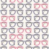 Vidros cinzentos e cor-de-rosa Imagem de Stock