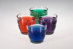 Vidros coloridos Foto de Stock