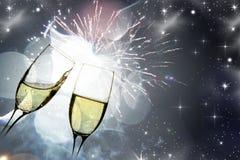 Vidros com champanhe Imagens de Stock Royalty Free