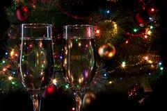 Vidros com champanhe Fotos de Stock