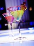 Vidros com cocktail Fotos de Stock Royalty Free