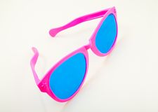 Vidros cor-de-rosa Imagens de Stock
