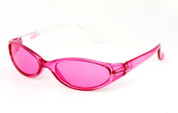 Vidros cor-de-rosa Fotografia de Stock Royalty Free