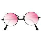 Vidros cor-de-rosa Fotos de Stock Royalty Free