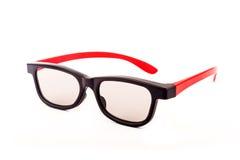 Vidros 3D à moda Fotografia de Stock