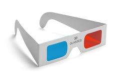 vidros 3D Fotografia de Stock Royalty Free