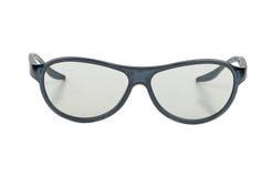 Vidros 3D plásticos Fotografia de Stock