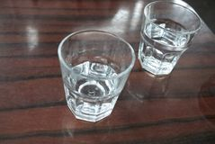 Vidros da água Imagens de Stock