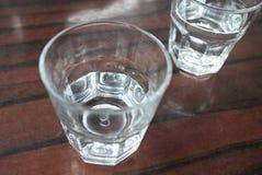 Vidros da água Fotos de Stock