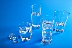 Vidros da água Fotos de Stock Royalty Free
