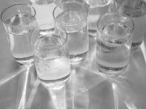 Vidros da água Fotografia de Stock Royalty Free