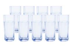 Vidros da água Imagens de Stock Royalty Free