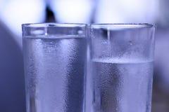 Vidros da água Foto de Stock