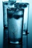 Vidros da água fria Imagens de Stock Royalty Free