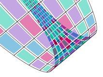 Vidros da cor ilustração stock
