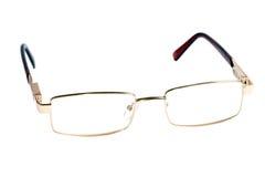 Vidros da cor do ouro para a vista maçante Fotos de Stock Royalty Free