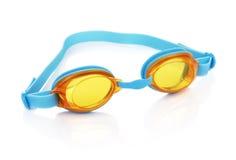 Vidros da natação Fotografia de Stock