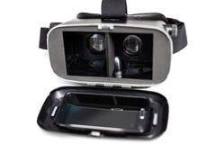 Vidros da realidade virtual VR Imagem de Stock Royalty Free