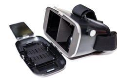 Vidros da realidade virtual VR Imagem de Stock