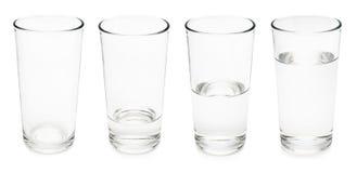 Vidros de água Imagem de Stock