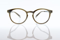 Vidros de Brown imagem de stock