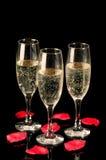 Vidros de Champagne Imagens de Stock Royalty Free