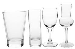 Vidros de cocktail Imagem de Stock