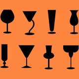 Vidros de cocktail Fotos de Stock Royalty Free
