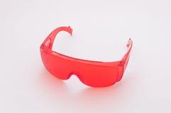 Vidros de segurança vermelhos Imagem de Stock