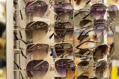 Vidros de Sun na venda Foto de Stock