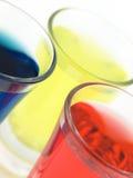 Vidros de tiro coloridos Fotos de Stock Royalty Free