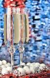 Vidros de um champanhe fotos de stock