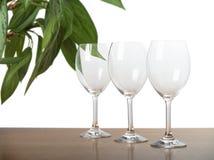 Vidros de vinho fotos de stock royalty free