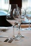 Vidros de vinho Imagens de Stock