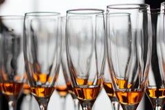 Vidros de vinho Imagem de Stock Royalty Free