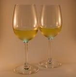 Vidros de vinho agradáveis Fotos de Stock