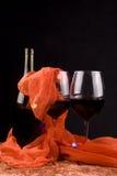 Vidros de vinho vermelho Foto de Stock