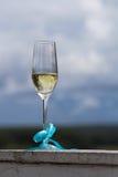 Vidros do casamento da foto do champanhe foto de stock