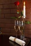 Vidros do champanhe Imagem de Stock Royalty Free