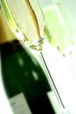 Vidros do champanhe Fotografia de Stock Royalty Free