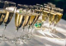 Vidros do champanhe Imagens de Stock