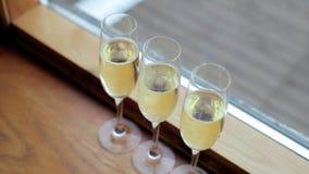 Vidros do champanhe filme